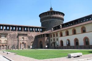 Castillo de los Sforza Milan