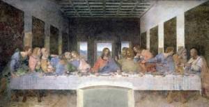 Cuadro Ultima Cena Leonardo da Vinci