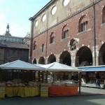 Plaza del Mercado Milán