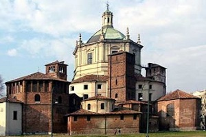 Iglesia San Lorenzo Maggiore Milan